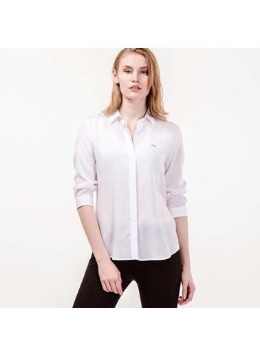 Lacoste Kadın  Gömlek CF0812.12B Beyaz